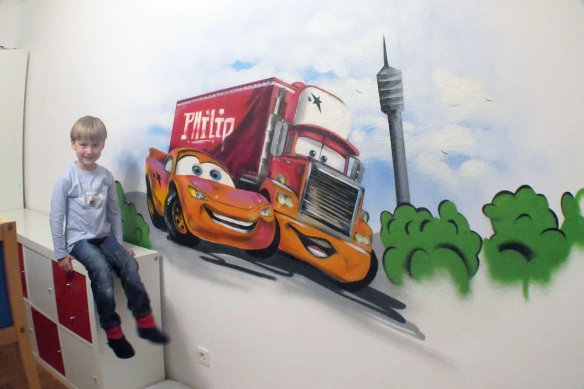 Graffiti Kinderzimmer Gestaltung in Stuttgart Egal ob Kinderzimmer oder Jugendzimmer, wir verschönern die Räumer Ihrer Kinder mit Farbenfrohen Graffitis!
