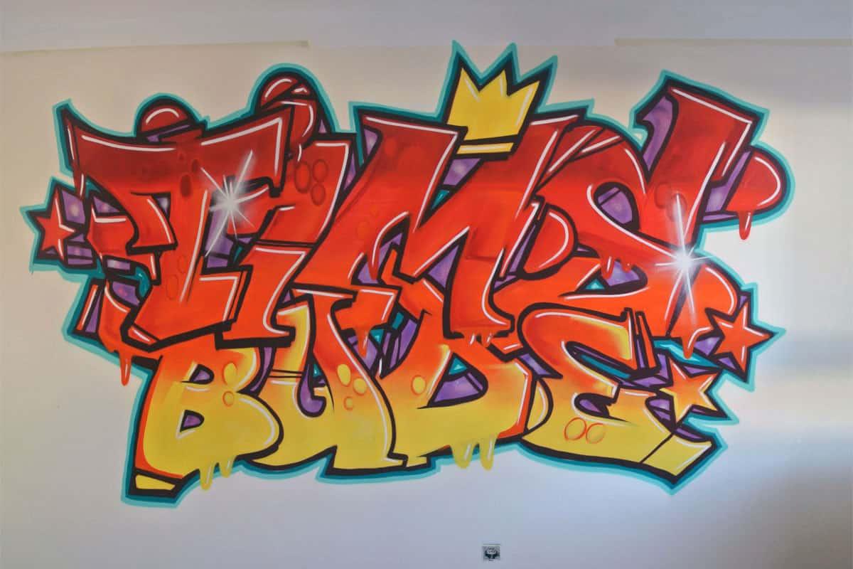 graffiti stuttgart kinderzimmer. Black Bedroom Furniture Sets. Home Design Ideas