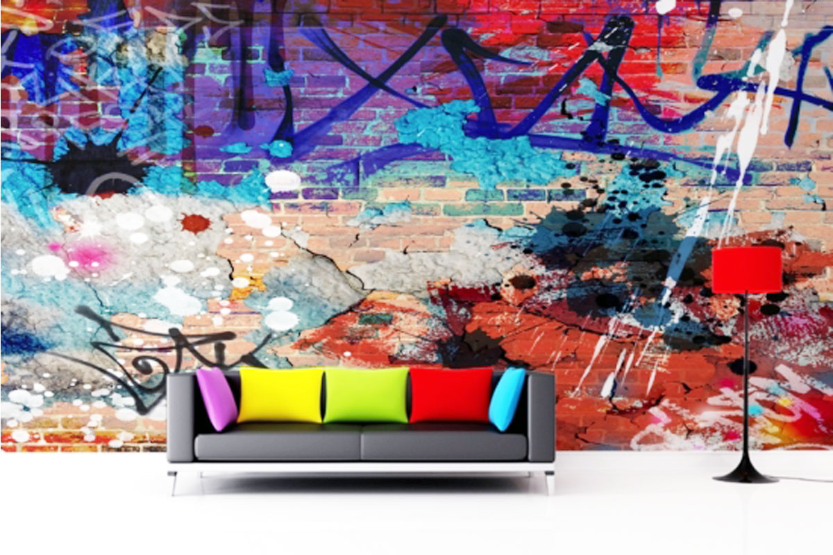 graffiti stuttgart graffiti im wohnzimmer. Black Bedroom Furniture Sets. Home Design Ideas