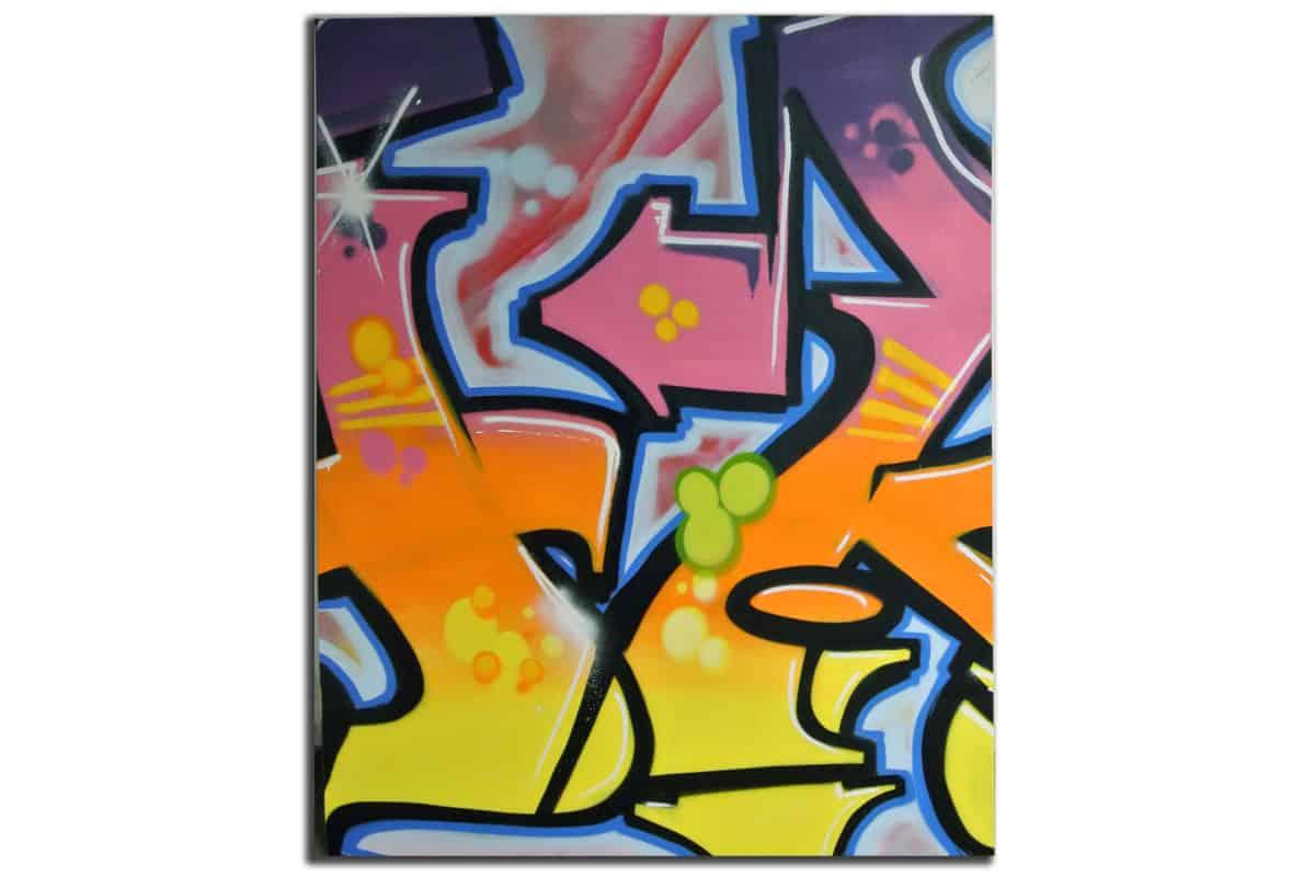 graffiti stuttgart leinwand. Black Bedroom Furniture Sets. Home Design Ideas