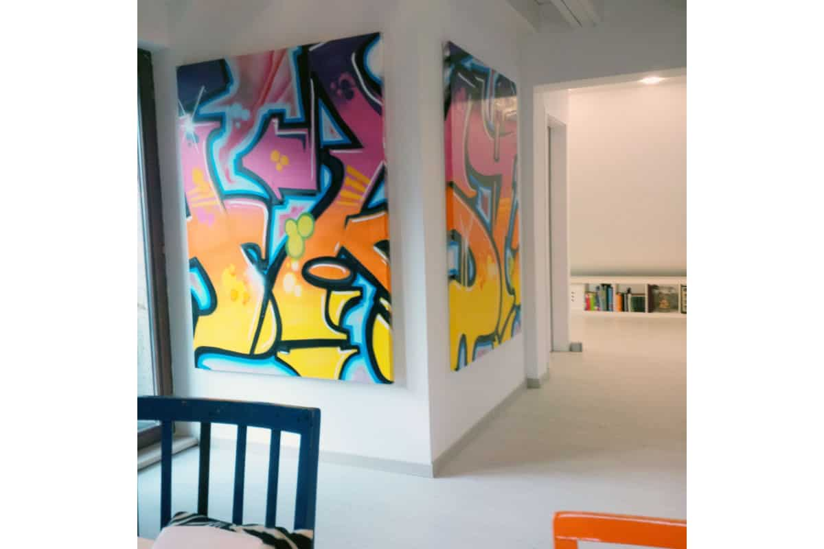 graffiti stuttgart graffiti kunst auf leinwand. Black Bedroom Furniture Sets. Home Design Ideas