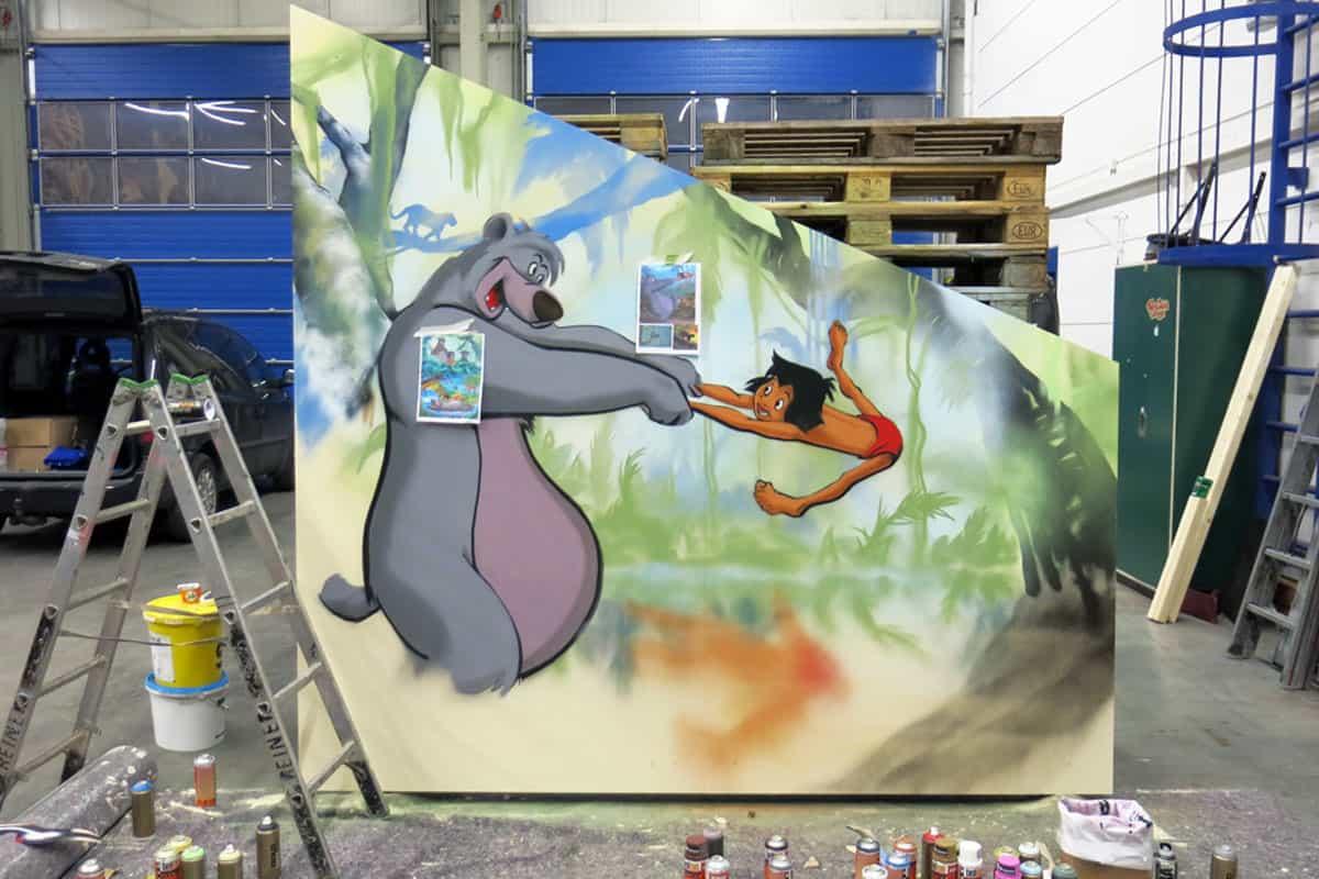 Kinderzimmer Archive - Graffiti Stuttgart