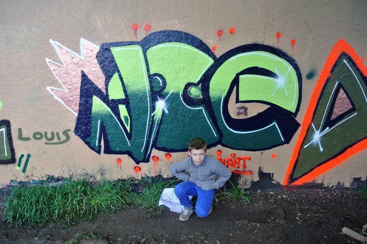Graffiti Workshop Osterferien 1 Cool Nice Dope 2 Graffiti Stuttgart