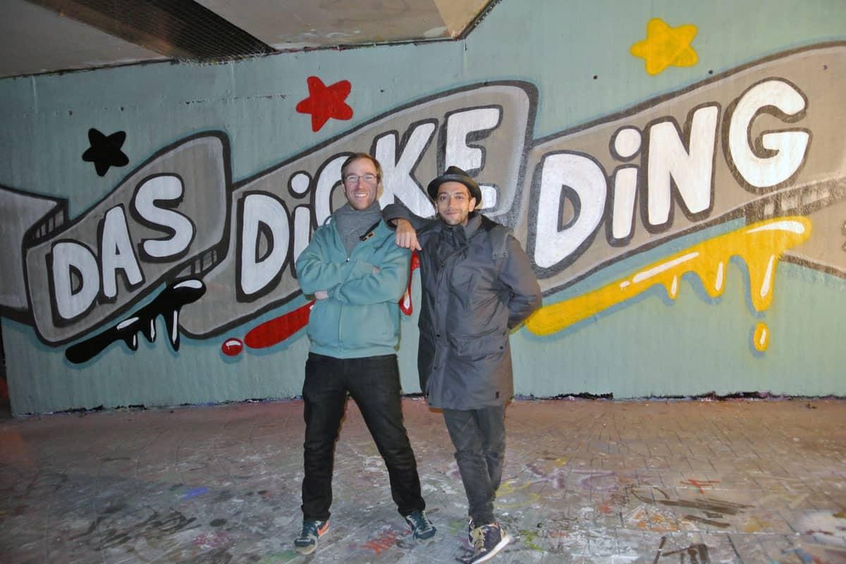 das dicke dicke ding-musik-video-graffiti-mister-santos