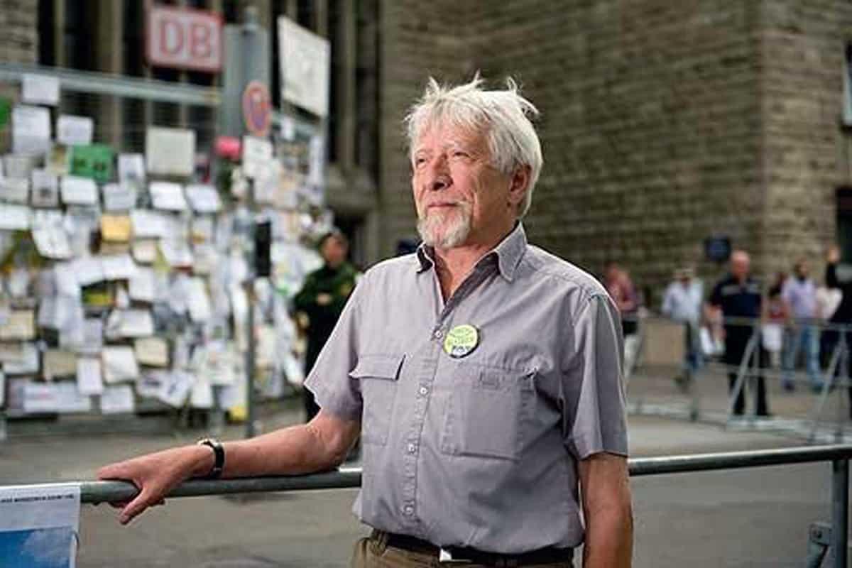 Zum 70.Geburtstag Stadtrat Gangolf Stocker wurden wir beauftragt ihm ein Porträt zu malen.