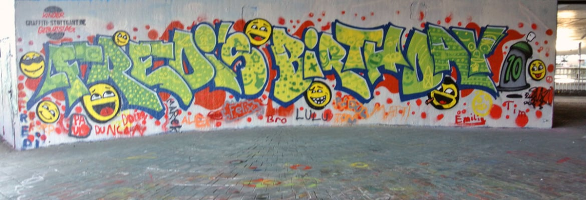 Happy Birthday Schrift Graffiti ~ Graffiti stuttgart � workshop page