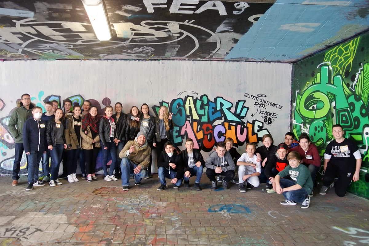 Graffiti Schulprojekte