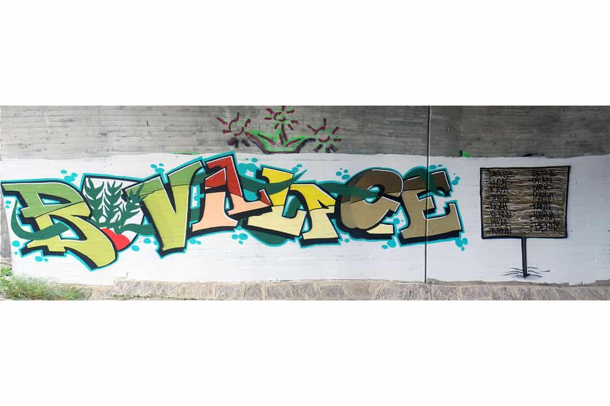 Graffiti Stuttgart hat in Zusammenarbeit mit Dirk vom Freundeskreis Kunst und Kultur Bondorf ein coolen Graffiti Workshop organisiert.