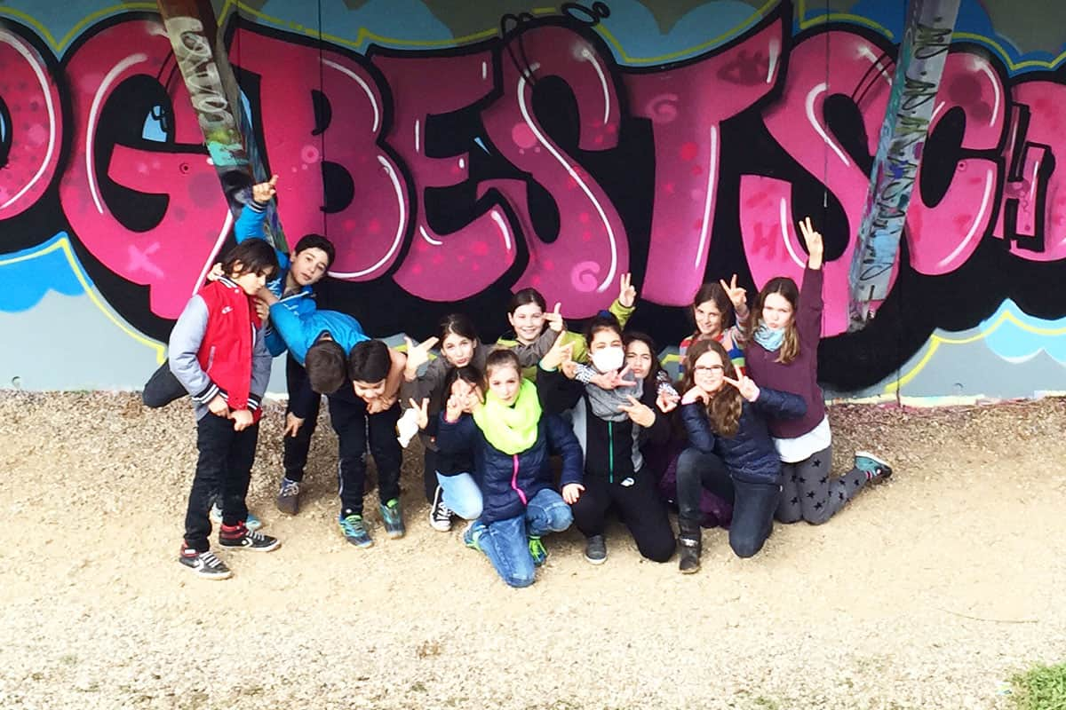 zum 11. Geburtstag von Luise haben wir von Graffiti Stuttgart mit Ihr und Ihren Gästen einen coolen Graffiti Kindergeburtstag gefeiert.