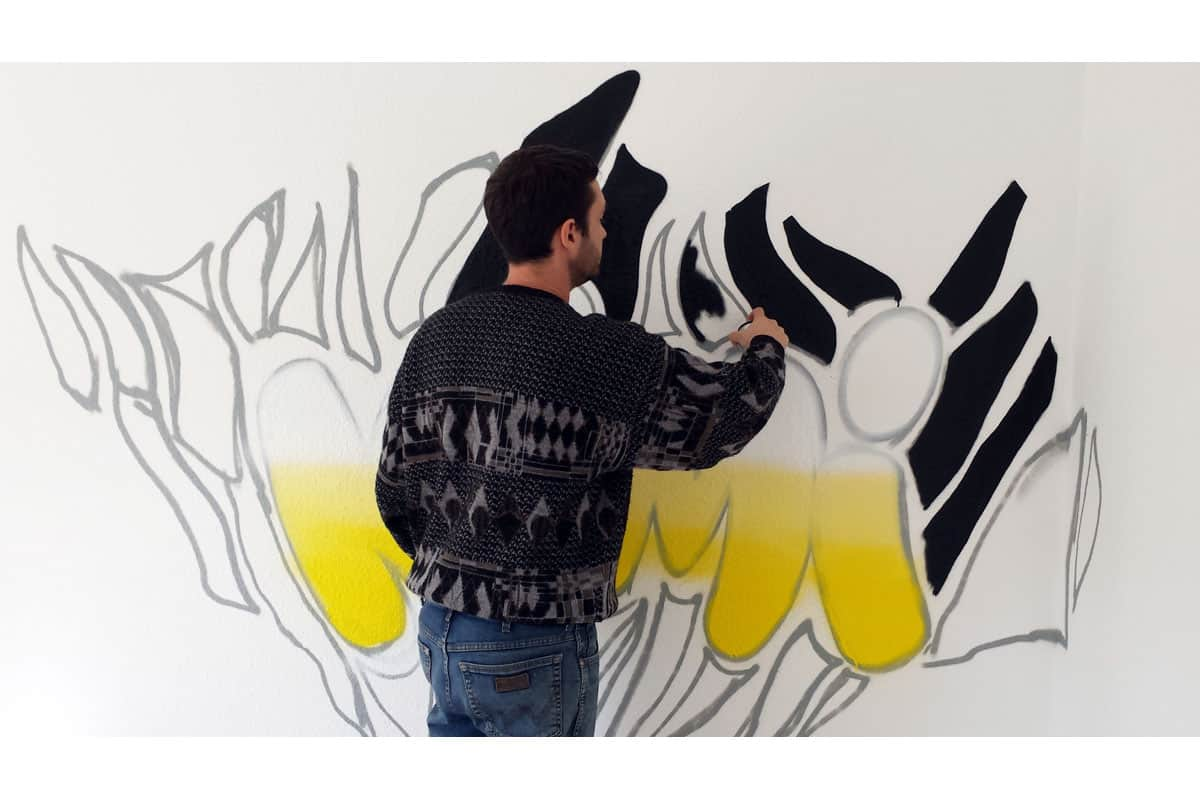 """Graffiti Stuttgart » Graffiti Kinderzimmer """"KIMI"""""""