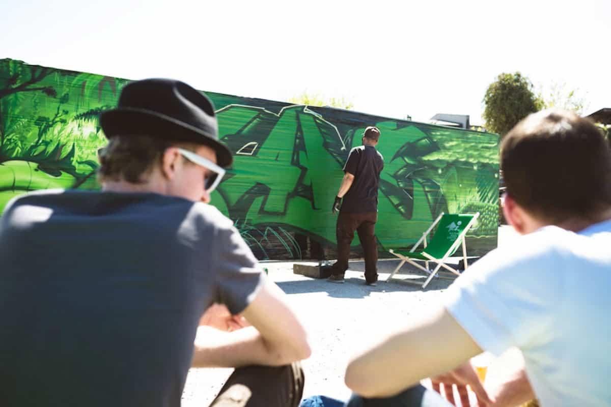 "Graffiti Event ""4 CULTURE DAYS: Entdecke die Kulturinsel"""