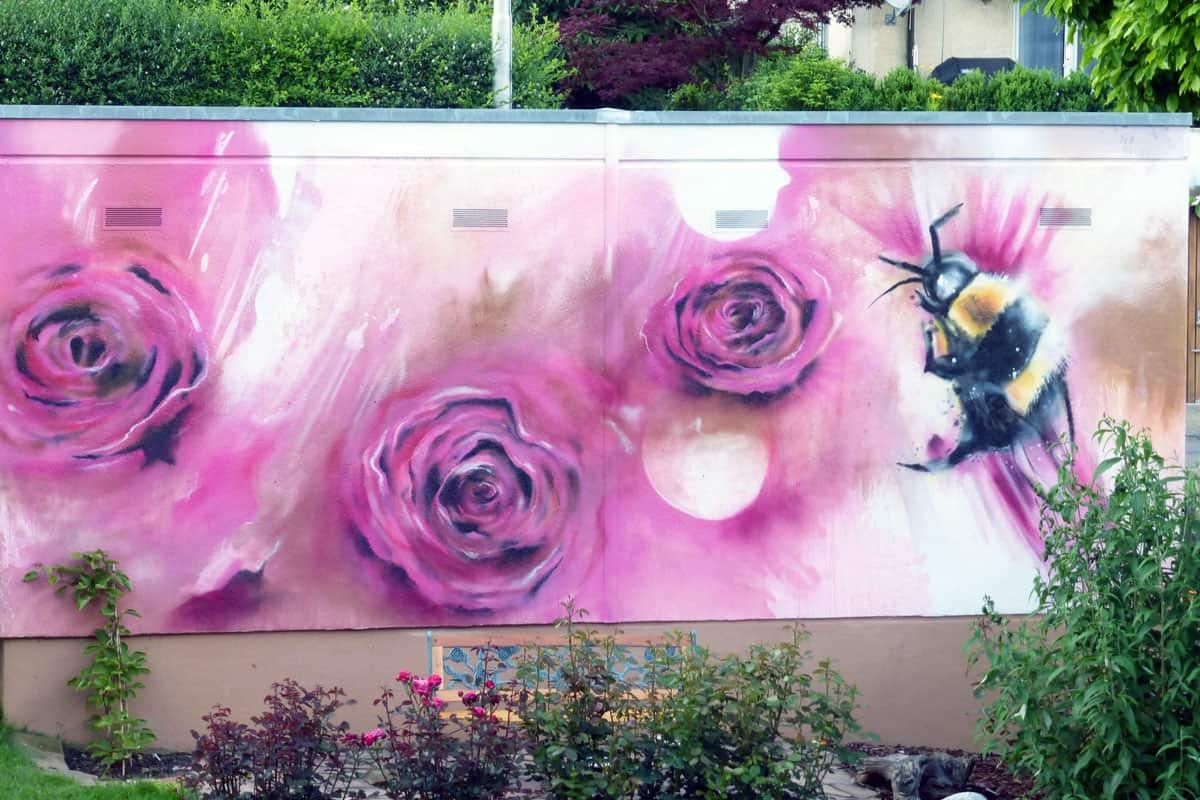 Gartenmauer Gestaltung graffiti stuttgart graffiti gestaltung garage und gartenmauer
