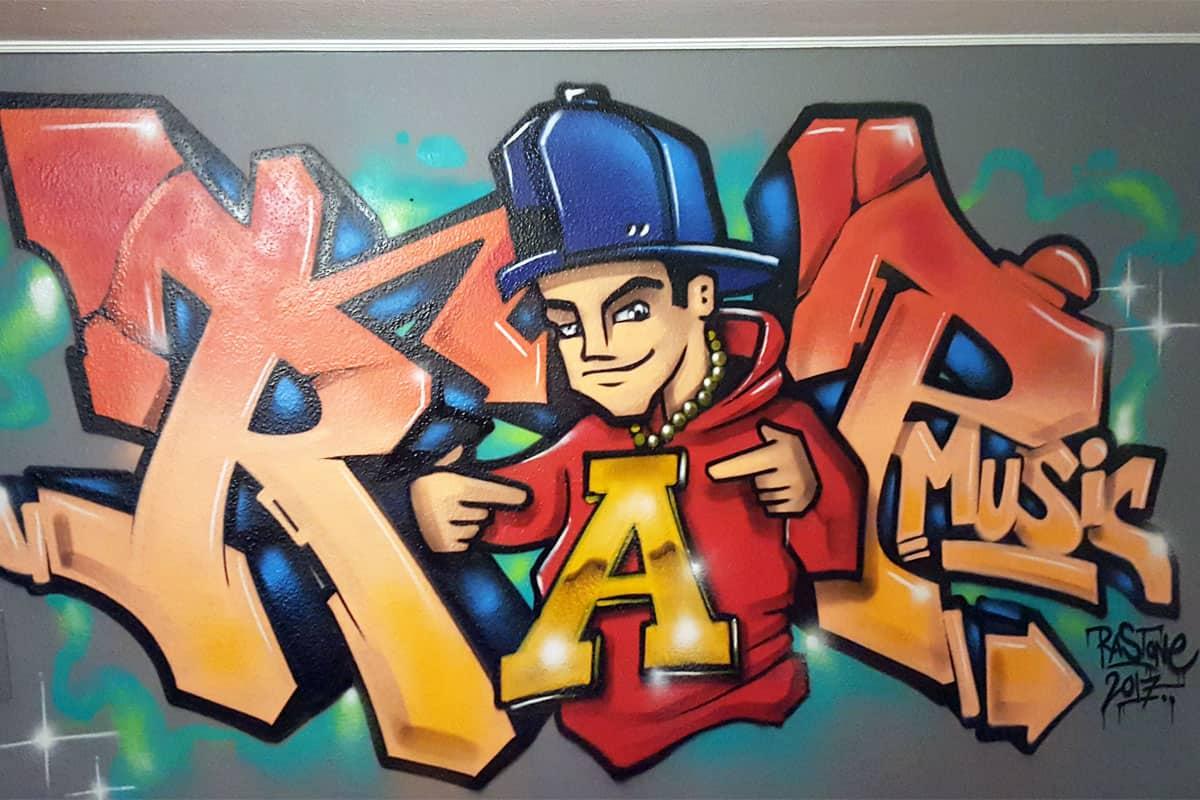 Graffiti Stuttgart » Kinderzimmer