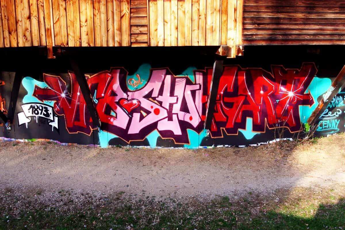 Um den 12. Geburtstag von Paul zu feiern, haben wir von Graffiti-Stuttgart mit seinen Gästen ein cooles Graffiti an der Außenwand vom Camp Feuerbach gemalt.