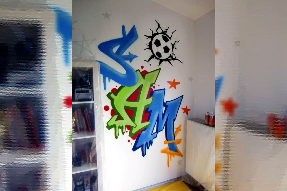 graffiti stuttgart graffiti kinderzimmer. Black Bedroom Furniture Sets. Home Design Ideas