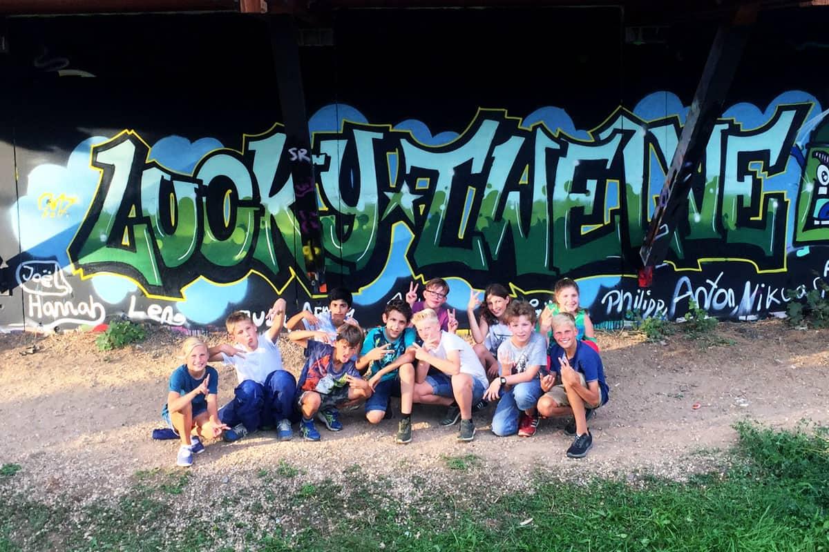 Graffiti Kindergeburtstag