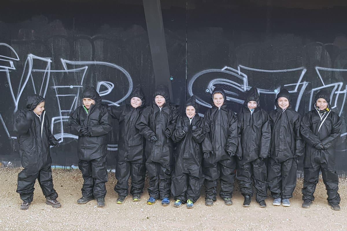 "Graffiti Kindergeburtstag ""VFB STUTTGART"""