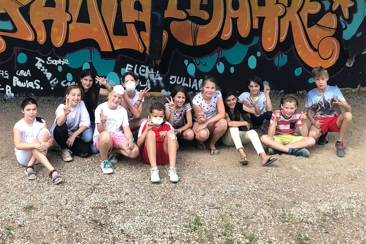 Zum 11. Geburtstag von Paula haben wir von Graffiti Stuttgart mit Ihr und Ihren Gästen einen coolen Graffiti-Kindergeburtstag gefeiert.