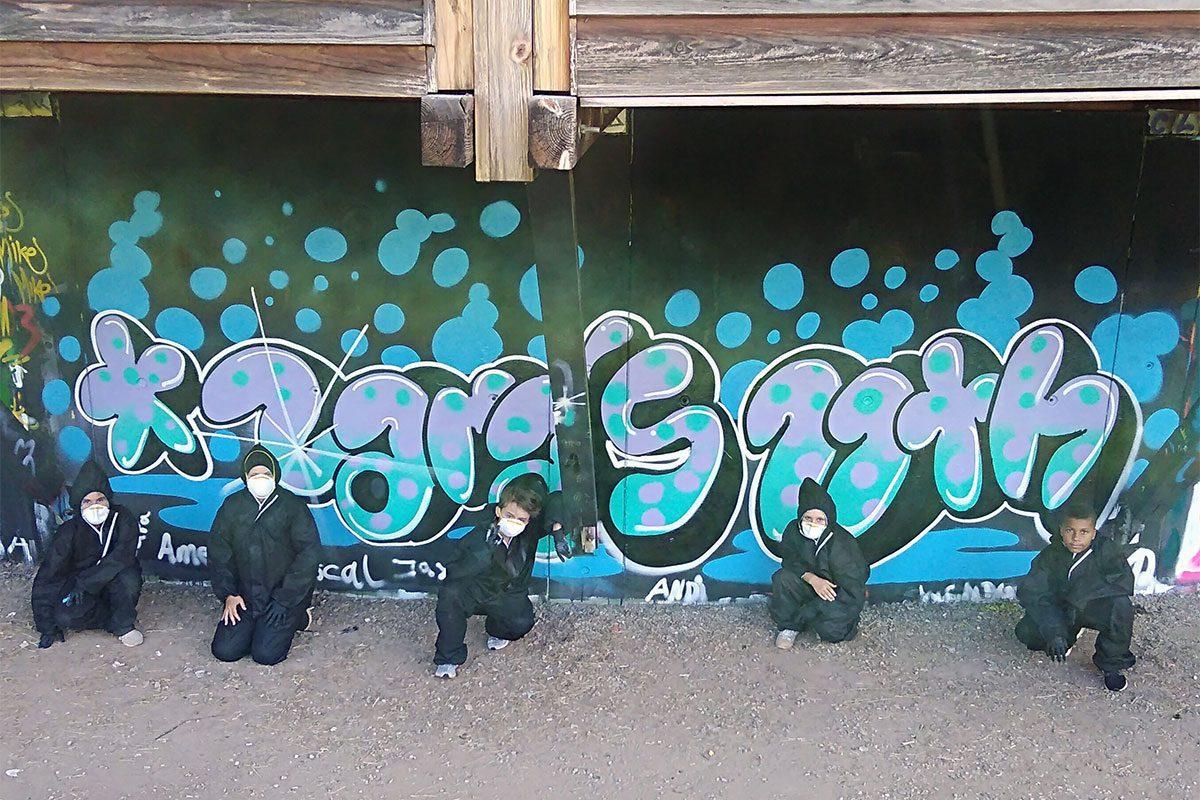 zum 11. Geburtstag von Zara haben wir von Graffiti Stuttgart mit Ihr und Ihren Gästen einen coolen Graffiti Kindergeburtstag gefeiert.
