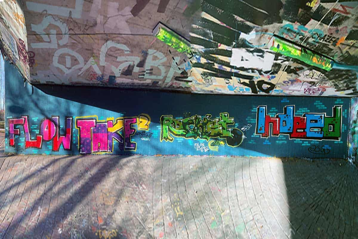 Der Graffiti Workshop Stuttgart Winterferein 2019 war wieder ein kreativeres Wochenende! Zusammen haben wir geplant,gezeichnet und gesprüht.