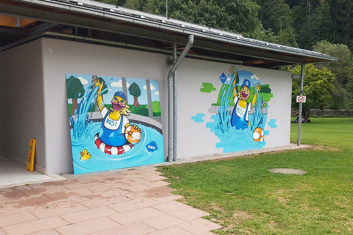 Die Stadtwerke Rottenburg am Neckar beauftragten uns für gleich zwei Gestaltungsarbeiten Ihrer Bäder.