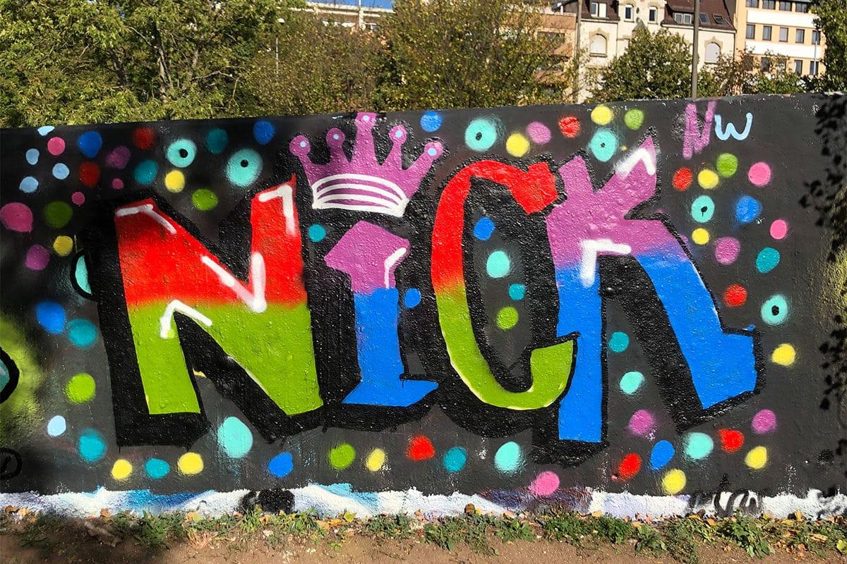 Der Just Spray Graffiti Action Day Oktober 2020 war wieder ein kreativerer Tag! Zusammen haben wir einfach nur mal Graffiti gesprüht!