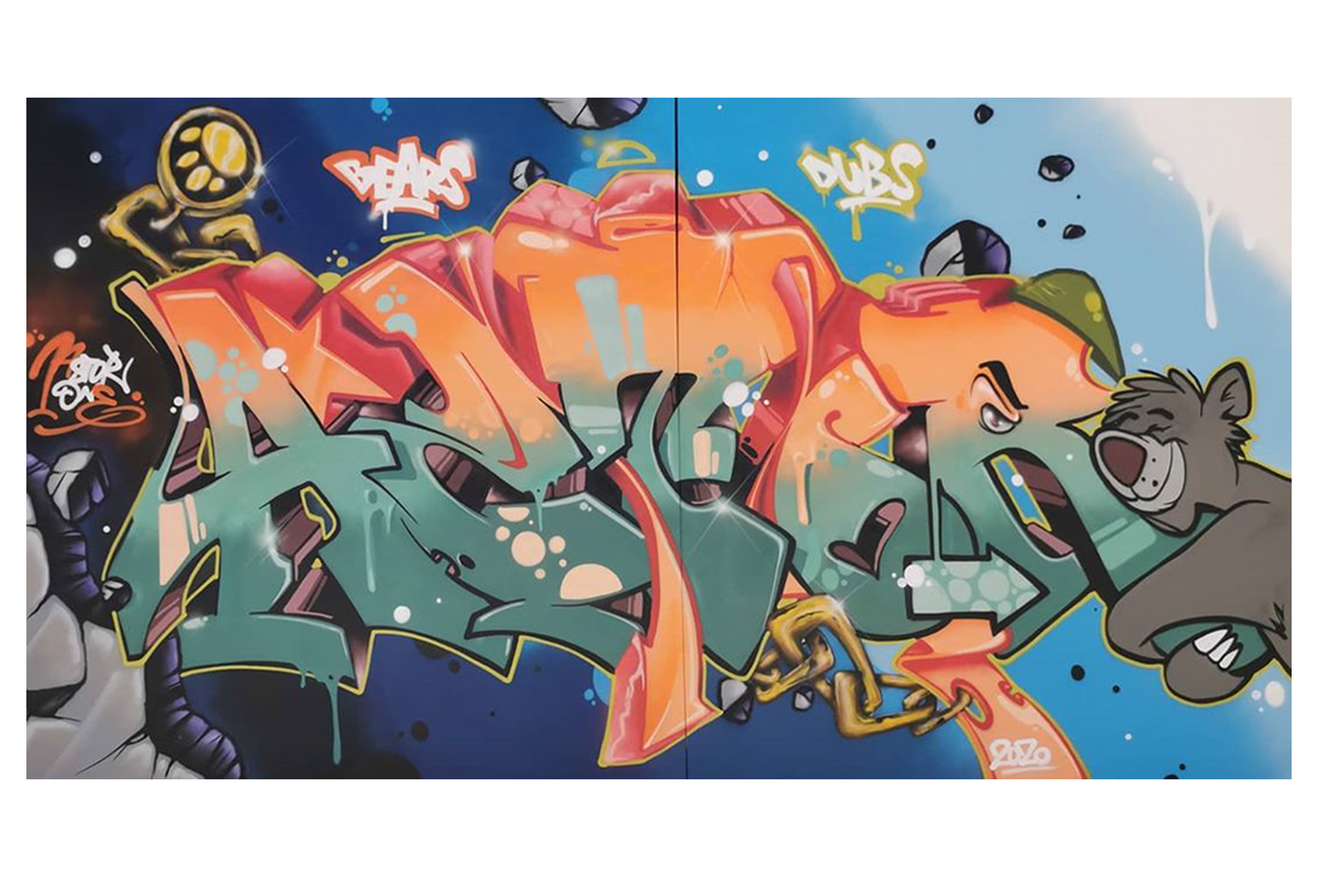 Secret Walls Gallery Stuttgart Astor one-