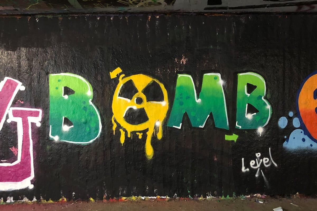 Der Graffiti Workshop Stuttgart Herbstferien 2020 war wieder ein kreativeres Wochenende! Zusammen haben wir geplant,gezeichnet und gesprüht.