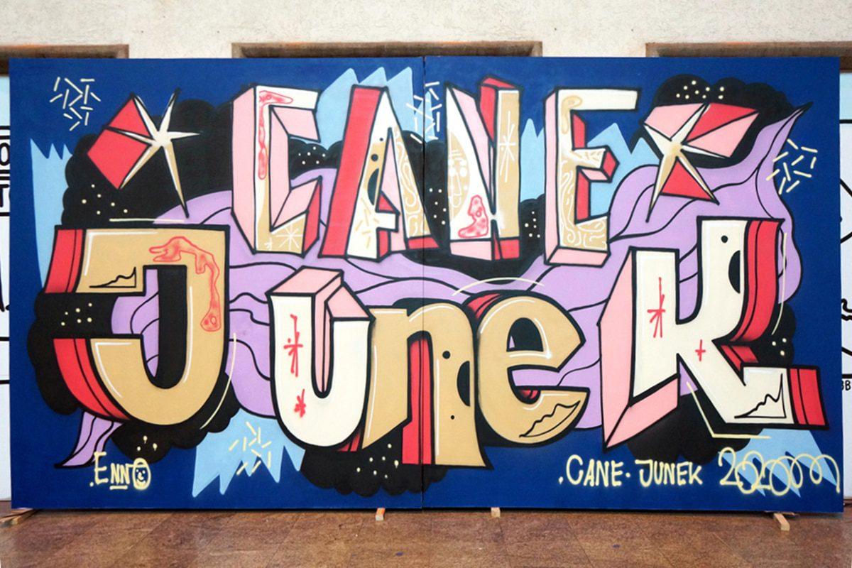 Secret Walls Gallery Stuttgart Cane Junek