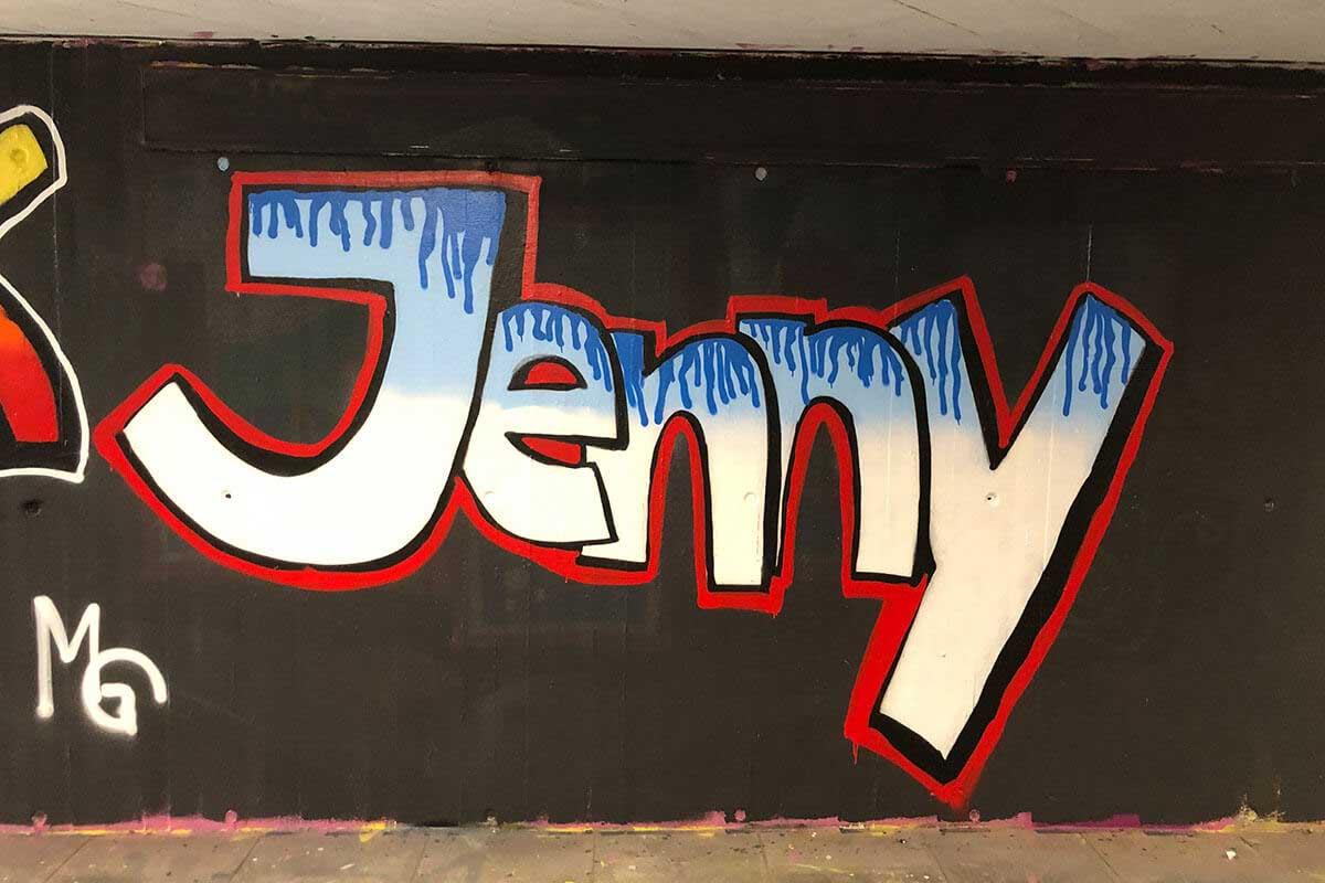 Der Just Spray Graffiti Action Day Mai 2021 war wieder ein kreativerer Tag! Zusammen haben wir einfach nur mal Graffiti gesprüht!