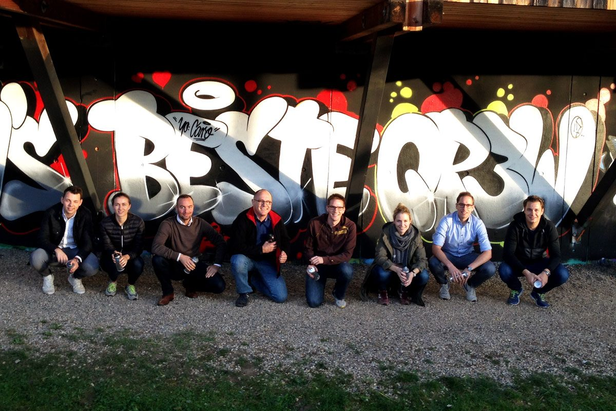 Graffiti Teambuilding